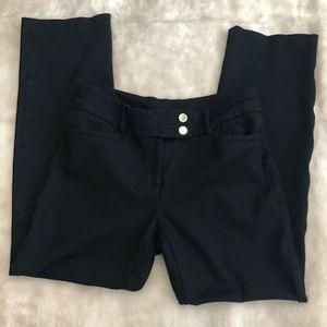Anne Klein Straight Leg Black Dress Pants Size 6